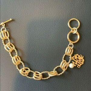 NEW Chainlink 'Hope' Goldtone Bracelet